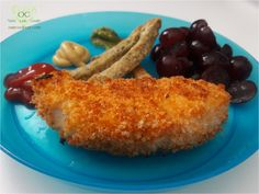 Skip the frying and add a little sweet and smokiness to your baked chicken fingers. This recipe has a good crunch without the added grease of a frying pan.