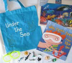 Under the Sea literacy bag Literacy Bags, Emergent Literacy, Education And Literacy, Preschool Literacy, Preschool Printables, Early Literacy, Literacy Activities, Literacy Centers, Kindergarten