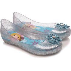 Sapatilha Infantil Grendene Kids Disney Shine Prata Lisa Frozen