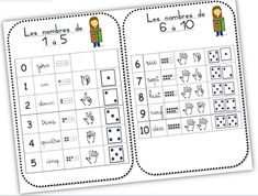 Cap Maths, Infant Activities, Decir No, Words, Names, Math Journals, Learning, Characters, Top