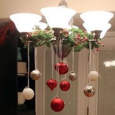 100 Best Kitchen Christmas Decorations - Prudent Penny Pincher Give your kitchen a festive makeover with these kitchen Christmas decorations. From rustic to farmhouse Christmas kitchens, there are plenty of ideas. Christmas Decorations For The Home, Diy Christmas Ornaments, Christmas Wreaths, Christmas Crafts, Holiday Decor, Diy Christmas Kitchen Decor, How To Decorate For Christmas, Christmas Kitchen Decorations, Crafts For The Home