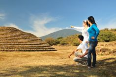 Round pyramids, very unique because they are the only ones known to exist anywhere in the world. Teuchitlan Jalisco