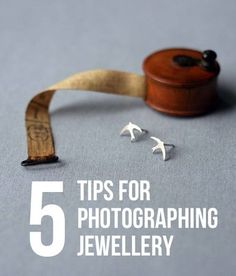 Five tips for photographing jewellery -
