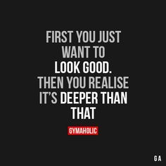First You Just Want To Look Good