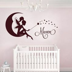 Personalized Sticker Room Baby Fairy find the product: www.univ-stickers … Source by