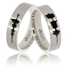 Noile verighete din aur personalizate marca ATCOM va vor aminti mereu de sunetul care a dat viata povestii de iubire. Aur, Girls Best Friend, Wedding Rings, Wedding Ideas, Engagement Rings, Weddings, Jewelry, Enagement Rings, Jewlery