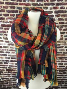 Sweet Plaid Scarf – URBAN MAX LLC