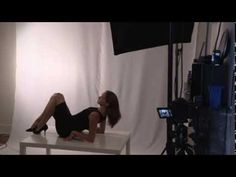 ▶ female model posing guide and techniques - see me in action - studio session - YouTube