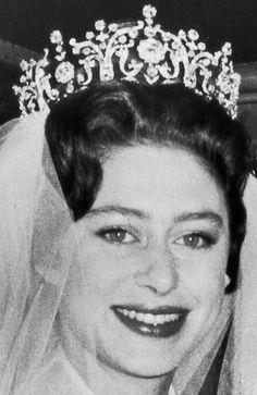 Tiara Mania: Poltimore Tiara worn by Princess Margaret, Countess of Snowdon