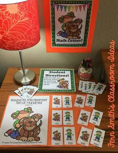 Looking to add some excitement to your center time? These highly engaging center games are quick and easy to prep and can be used for a variety of games, concentration, match game, go fish, gin rummy, scoot, read the room, self checking, even perfect for assessments. Once your students play with this deck, many of my other Quick and Easy to Prep centers can be used for different skills and seasons. Your center time will run smoothly and with very little prep from you! Rounding to the Nearest…