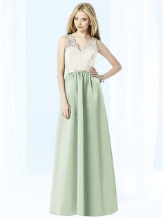After Six Bridesmaids Style 6708 (shown in celadon)