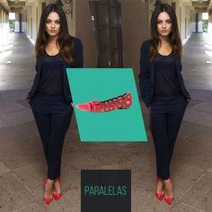 Olha só como a #MilaKunis ficou maravilhosa com um look monocromatico e com o toque final com um sapato vermelho!  #love #instagood #happy #beautifuls #girl #smile #fashion #summer #moda #estilo #instamood #instalove #best #sapatos #sapato