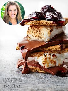 Holly Peterson's Cherry and Chocolate S'mores