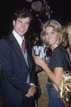 "lifeonmars70s: "" Olivia Newton-John & John Travolta.. dressed up! """