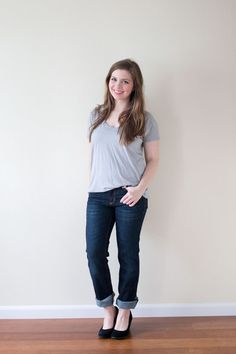 Stitch Fix April 2015 Review & Styling: Dear John Kyleigh Straight Leg Jean / hellorigby seattle fashion and lifestyle blog