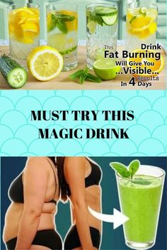 This Fat Burning Drink Will Give You Visible Results In 4 Days! – This Fat Burning Drink Will Give You Visible Results In 4 Days! Weight Loss Detox, Diet Plans To Lose Weight, Healthy Facts, Flat Belly Workout, Belly Fat Diet, Fat Burning Drinks, Detox Plan, Health And Nutrition, Health Tips