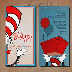 Cat In the Hat Baby Shower Invitations - √ 24 Cat In the Hat Baby Shower Invitations , Dr Seuss Baby Shower Invitations Cat In the Hat Dr Seuss Baby Shower, Baby Boy Shower, Baby Showers, Football Baby Shower Invitations, Baby Wedding, Baby Shower Printables, Baby Hats, Little Babies, Baby Shower Decorations