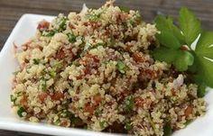 Quinotto - Recetas con quinoa: la beneficiosa semilla de moda - El risotto es uno de los platos que más nos gustan y sabemos que sustituir el arroz por la quinoa puede ser una opción saludable y deliciosa para alguna reunión familiar o una cena con amigas en la que quieras lucirte...