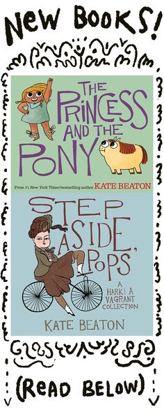 New Books for 2015 - two from Kate Beaton! So exciting...