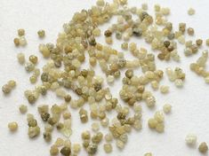 WHOLESALE 5 CTW Yellow Rough Diamond Yellow Raw by gemsforjewels