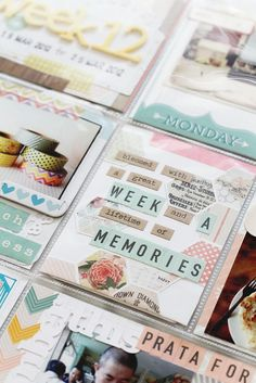 Project Life Update | Mess vs Organized » Findingnana<------ so super talented!!!