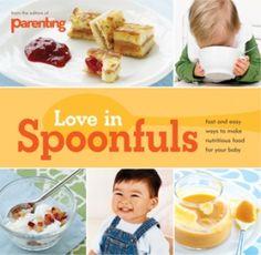 Love In Spoonfuls baby food cookbook