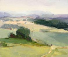 Christine Lafuente . Oldwick Farm View, 2007 . via Mutual Art