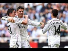 Vidéo buts Real Madrid Cornella Résumé 02/12/2014 - http://www.actusports.fr/126270/video-buts-real-madrid-cornella-resume-02122014/