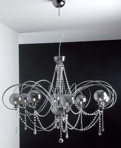 Cangini & Tucci GLOBO STRASS Chandelier 8 Bulbs 844.8L