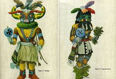 Portfolio of Hopi Kachinas. These are amazing. There is even a link to the descriptions of the different Kachinas.