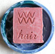 Rose Oil and Hemp Shampoo Bar  Vegan Shampoo Bar  by AquarianBath