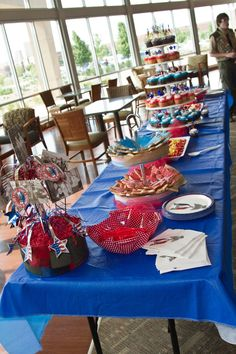 eagle scout court of honor | COH food table | EAGLE SCOUT COURT OF HONOR