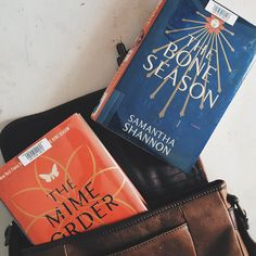 thebooktrove:I officially have a book hangover after finishing the Mara Dyer series this morning. (Another 5/5 stars) Fingers crossed that Samantha Shannon's The Bone Season will fill the void!
