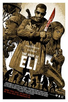Alternative movie poster for Book of Eli by Chris Weston
