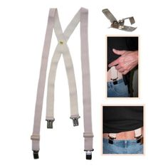 Big and Tall XL Elastic Undergarment Suspenders - 54 inches LongFrom #Fashion Helpers Price: $17.95