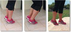 Sig farvel til smerterne med disse 6 utrolige øvelser! Døjer du med ondt i knæ, fødder eller hofter så se her! Hip Pain, Knee Pain, Easy Workouts, At Home Workouts, Weak Ankles, Runner Tips, Bad Knees, Thigh Muscles, Senior Fitness