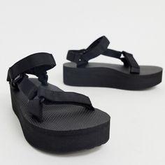 Teva Sandals Flatform Universal Bright White