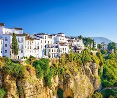 Spain's oldest and one of the most spectacular towns, Ronda | 10 Secret European Little Towns You Must Visit