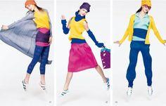 Issey Miyake Pleats Please Fall/Winter 2009 Lookbook – Anya Georgijevic