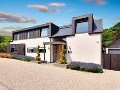Dormer House, Dormer Bungalow, Modern Bungalow House, Bungalow Homes, Bungalow Ideas, Bungalow Renovation, Bungalow Exterior, Bungalow Loft Conversion, Modern Roofing