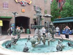 Muppets fountain, Hollywood Studios, WDW.