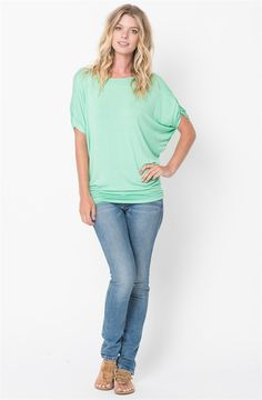 Ruched Short Sleeve Tops | Jane