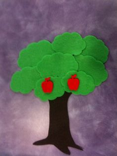 What Happens In Storytime...: Flannel Friday - Way Up High in the Apple Tree