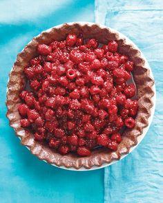 Raspberry-Chocolate Pie