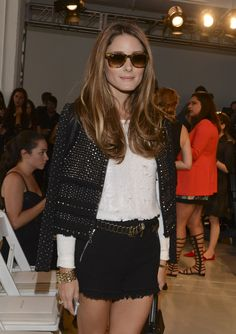 Olivia Palermo attends the Rebecca Taylor fashion show  Fashion Week Spring 2014 at Center 548 on September 7, 2013 in New York City.