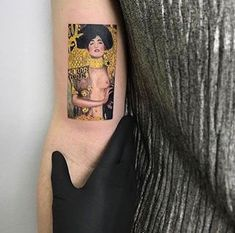 This Klimt stunner. | 32 Tattoos You Need If You Just Fucking Love Art