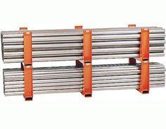 Garage Storage, Storage Shelves, Shelving, Steel Storage Rack, Bar Stock, Store Layout, Storage Solutions, Metals, Atelier