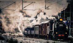 Steam train - null