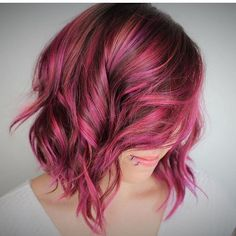 @chelraerae from @planejanesalon is the artist... Pulp Riot is the paint.