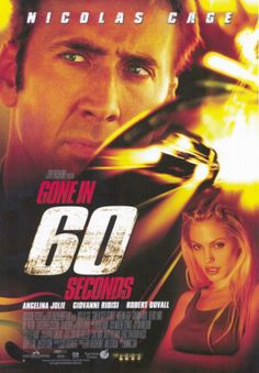 Staring Nicolas Cage. Directed by Dominic Sena. 2000